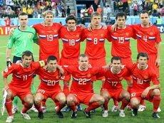 В нынешней сборной России сразу 7 человек входят в список игроков, проведших больше всех матчей за команду