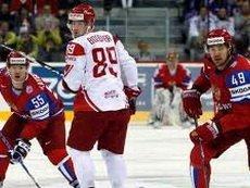 Россия - фаворит хоккейного поединка против датчан на ЧМ-2012
