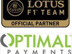 Lotus F1 Team и Optimal Payments объявили о партнерстве