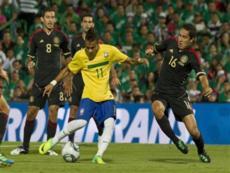 Бразилия против Мексики