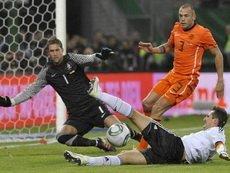 Голландия-Германия 1:2. После матча