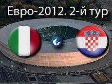 Италия-Хорватия 1:1. После матча