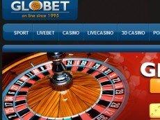 Скриншот сайта Globet