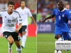 Марио Гомес и Марио Балотелли: кто из них будет более достоин прозвища «Супер Марио» в матче Италии с Германией 28 июня
