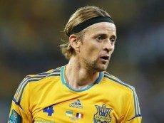 Полузащитник сборной Украины Анатолий Тимощук