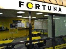 Один из пунктов приема ставок Fortuna