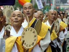 Суд наказал буддийских монахов