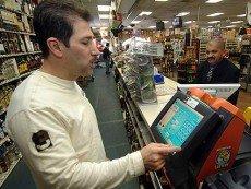 Пользователь лотерейного автомата