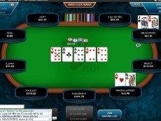 Скриншот покерной игры от Full Tilt Poker