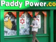 Один из пунктов приема ставок Paddy Power