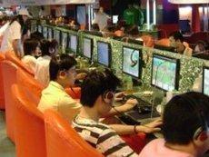 В китайском Интернет-кафе