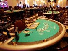 Внутри казино в Кливленде