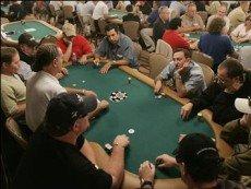 За игрой в покер