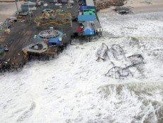 Последствия урагана 'Сэнди'