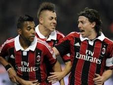 В матче чемпионата Милану удалось победить ребят Конте со счетом 1:0