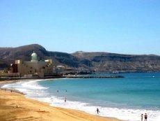 Пляж на острове Гран-Канария