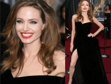 Букмекеры надеются увидеть еще один откровенный разрез на платье Джоли