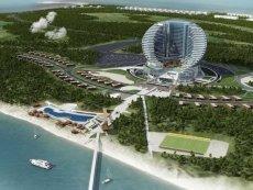 Здание отеля будет выполнено в форме подковы