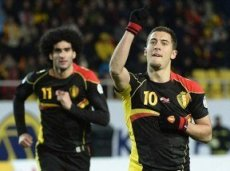 Эден Азар забивал в двух последних матчах за сборную