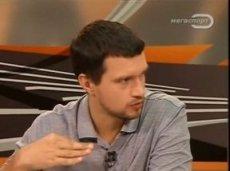 Роберто Моралес в эфире передачи «Откровенно про футбол»