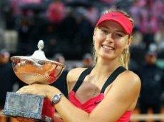 Год назад Шарапова выиграла турнир в Риме