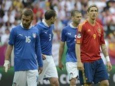 Италия оказал сопротивление Испании