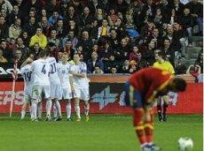 В марте Финляндия сыграла вничью с Испанией