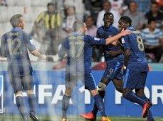 В 1/8 финала Франция обыграла Турцию со счетом 4:1