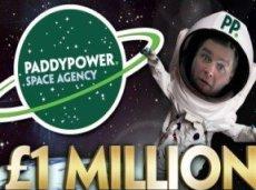 Первую в истории ставку в космосе сделает победитель соревнования Paddy Power