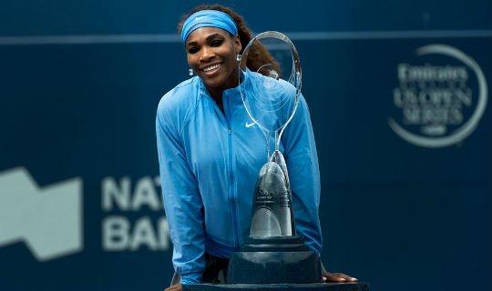 На прошлой неделе Уильямс выиграла турнир в Торонто