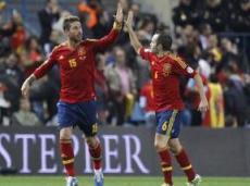 Сборная Испании забьет от трех голов