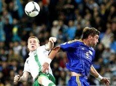 В Астане Ирландия с трудом выиграла у Казахстана со счетом 2:1