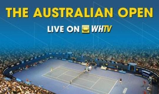 Australian Open в трансляции на William Hill