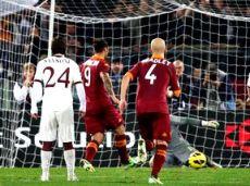 """""""Торино"""" постарается хотя бы забить гол в ворота """"Ромы"""""""