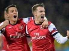 «Арсенал» возглавляет группу F с 9 очками