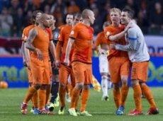 В товарищеских матчах Нидерланды играют не блестяще