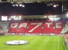 Домашние трибуны стадиона в Пирее устроят «Бенфике» горячий прием