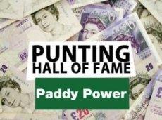 В «Зал славы» Paddy Power попало имя еще одного удачливого игрока
