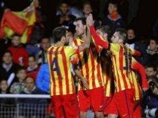 Каталонский клуб одержит очередную викторию