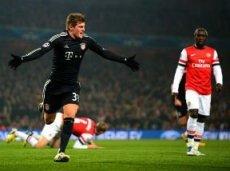 «Бавария» вновь выиграет у «Арсенала»