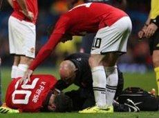 Робин ван Перси не поможет своим одноклубникам из-за полученной травмы