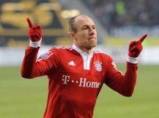 Роббен уже забил 10 голов в чемпионате Германии