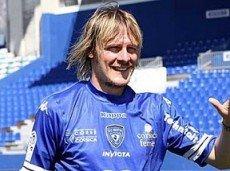 Красич забил свой первый гол в Лиге 1 в матче против «Лорьена»