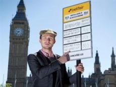 Betfair позиционирует себя «неофициальным букмекером правительства Великобритании»