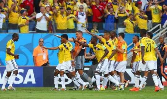 Колумбийцы выйдут в четвертьфинал ЧМ-2014