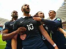 Бензема признан лучшим игроком матча Франция - Гондурас