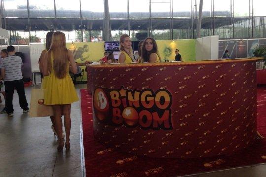 Зона «Бинго-Бум» на Russian Gaming Week 2014