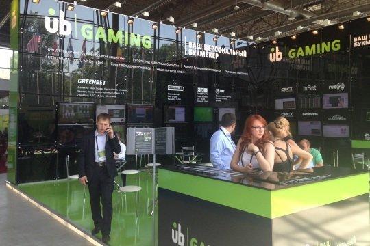 Зона UB.Gaming на Russian Gaming Week 2014