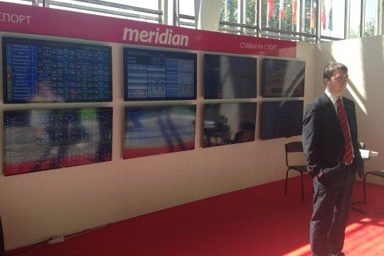 Стенд MeridianBet на RGW-2014