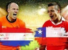 Нидерланды и Чили поспорят за лидерство в группе